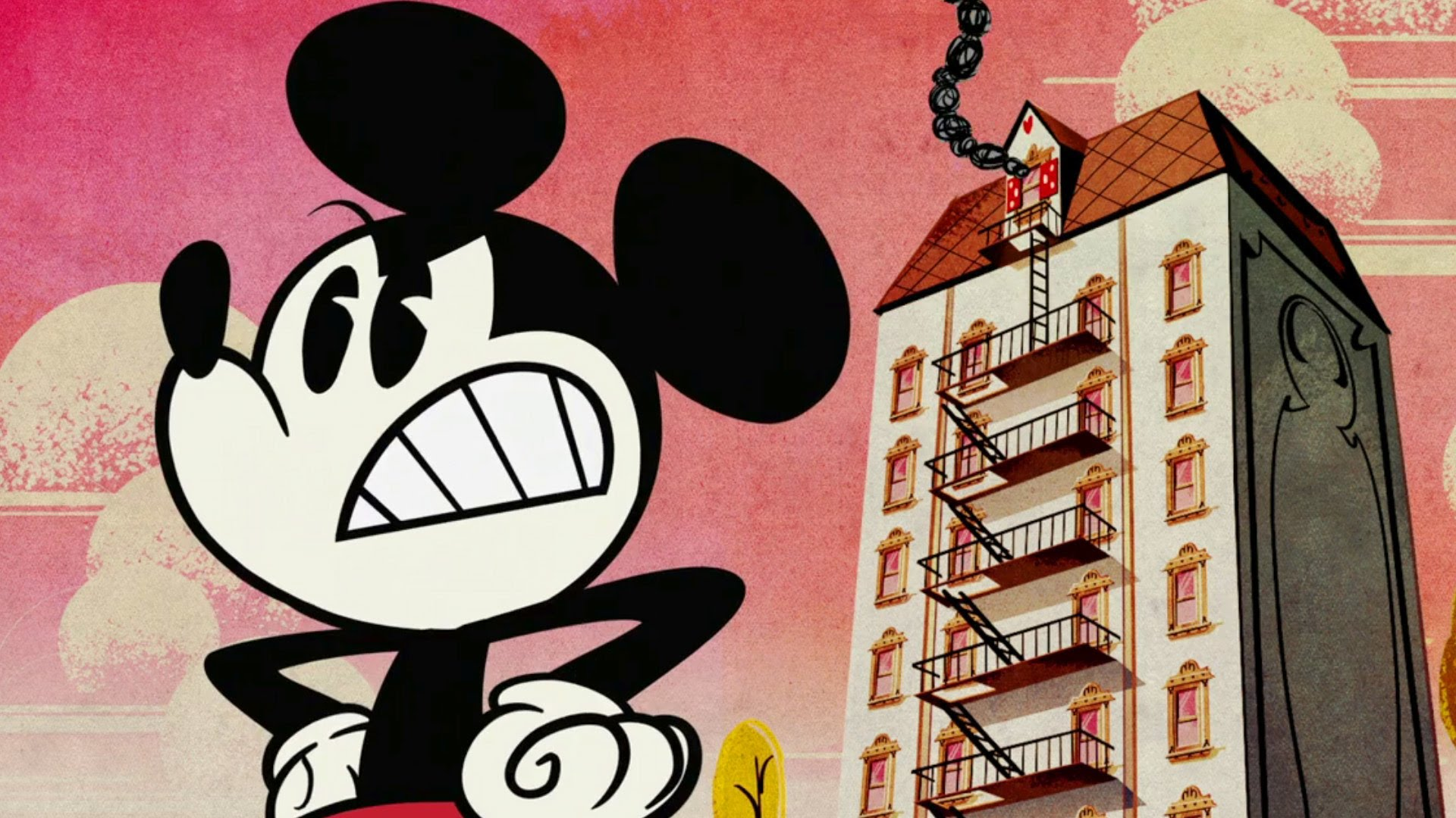 Fire Escape | A Mickey Mouse Cartoon