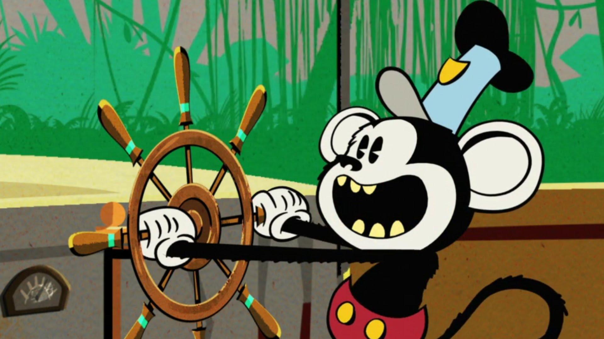 Mickey Monkey | A Mickey Mouse Cartoon
