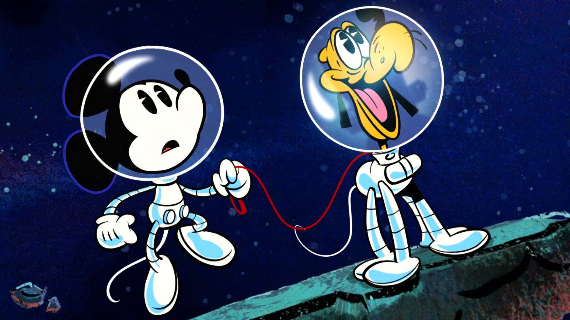 Space Walkies | A Mickey Mouse Cartoon